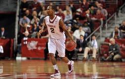 Action 2012 du basket-ball des hommes de NCAA Photographie stock libre de droits