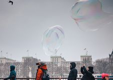 Action, Air, Bubbles Stock Images