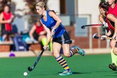Action Astro d'hockey de filles Photo stock