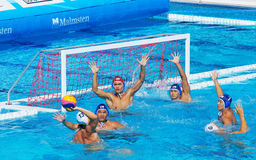Action of the Australian Team by Aidan Roach Royalty Free Stock Image