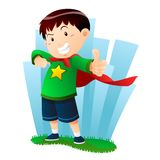 Action Boy Royalty Free Stock Photography