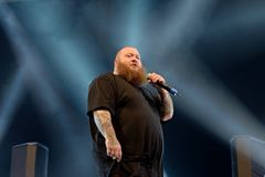 Action Bronson rapper performs in concert at Primavera Sound 2016 Royalty Free Stock Photo