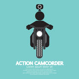 Action Camcorder Symbol. Royalty Free Stock Image