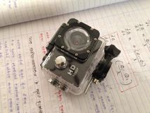 Action camera Royalty Free Stock Photo