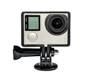 Action camera for extreme sports Stock Photography
