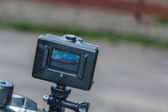 Action camera Stock Photography