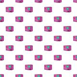 Action camera pattern, cartoon style. Action camera pattern. Cartoon illustration of action camera vector pattern for web Royalty Free Stock Images