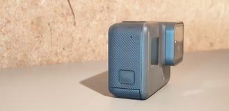 Action camera. Action video camera close-up. Action camera. Action video camera royalty free stock photos