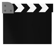 Action Clipboard isolated on white. 3d illustration Stock Photo