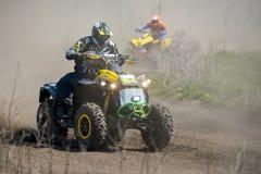 Action d'ATV Photos stock