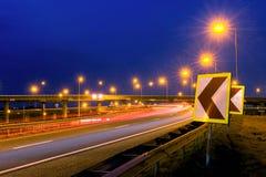 Action d'autoroute Photographie stock libre de droits