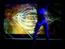 action dancer Στοκ φωτογραφίες με δικαίωμα ελεύθερης χρήσης