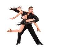 action dancers Στοκ Φωτογραφίες