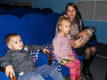 The action `Day of good deeds` from the Ministry of emergencies of Belarus in the Gomel region. Stock Photo
