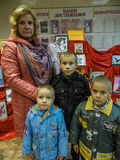 The action `Day of good deeds` from the Ministry of emergencies of Belarus in the Gomel region. Royalty Free Stock Photography