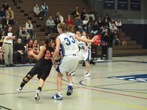 Action de basket-ball Photos libres de droits