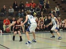 Action de basket-ball Photographie stock libre de droits