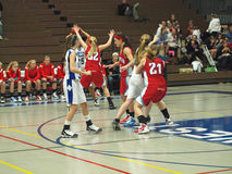 Action de basket-ball Image stock