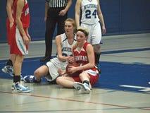 Action de basket-ball Photo libre de droits