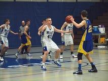 Action de basket-ball Image stock