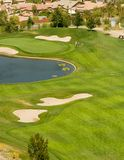Action de club de golf Photo libre de droits