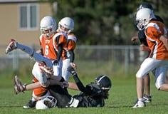 Action de football américain Photo libre de droits