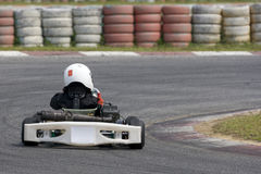 Action de Karting Photographie stock libre de droits