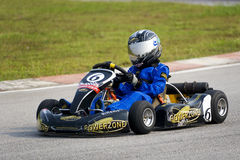 Action de Karting Photographie stock
