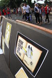 Action de l'Indonésie d'amour Photo stock
