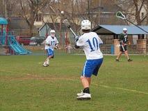 Action de Lacrosse Images libres de droits