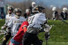 Action de lacrosse dans Redding Photo libre de droits