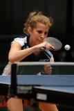 Action de ping-pong Photos stock