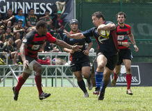 Action de rugby Photo libre de droits