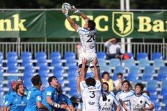 Action de rugby - ligne  Images libres de droits
