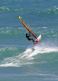 Action de Sailboarding Image libre de droits