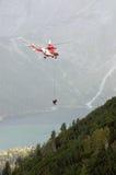 Action de sauvetage Photo libre de droits