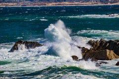 Action de vague Photos libres de droits