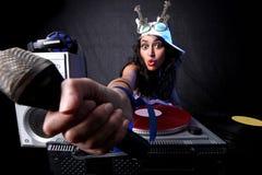 action DJ frais Photos stock