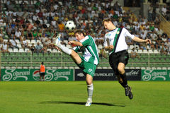 Action du football Images libres de droits