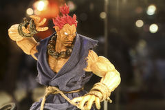 Action-Figur Akuma/Gouki Lizenzfreie Stockbilder