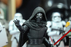 Action figure of Kylo Ren. Stock Photography