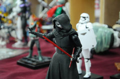 Action figure of Kylo Ren. Stock Images