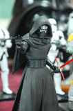 Action figure of Kylo Ren. Royalty Free Stock Images