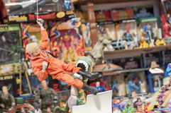 Action figure museum Royalty Free Stock Photo