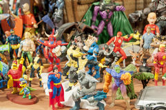 Action figure museum Royalty Free Stock Photography