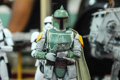 Action-Figuren von Jango Fett Stockfotografie