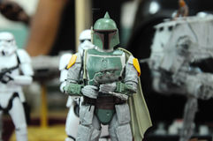 Action-Figuren von Jango Fett Stockfotos