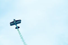 Action In The Sky During An Airshow Stock Photos