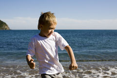 Action kid Royalty Free Stock Photography