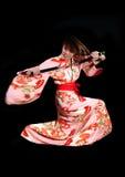 Action kimono Stock Image